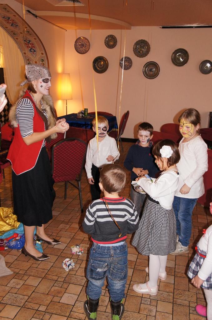 аниматоры для детей Улица Егора Абакумова